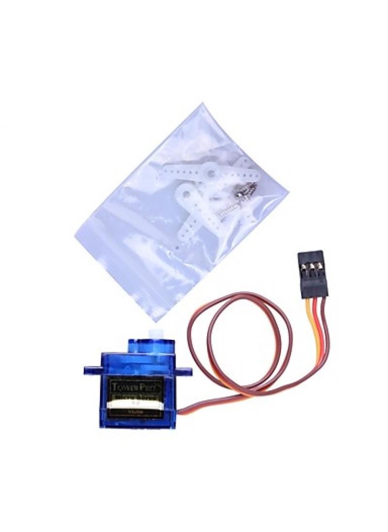 Mini 9G Servo with Accessories - Translucent Blue (3PCS)