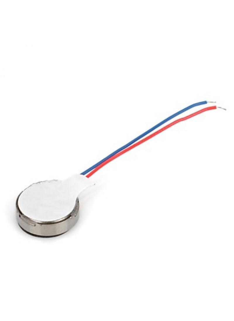 DIY   1027 Flat Vibrating Vibration Motor - Silver (5 PCS)