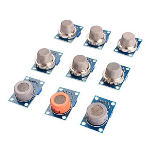 Gas Sensor MQ-2 MQ-3 MQ-4 MQ-5 MQ-6 MQ-7 MQ-8 MQ-9...
