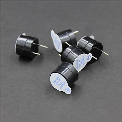 5V Active Buzzers - Black (5 PCS)