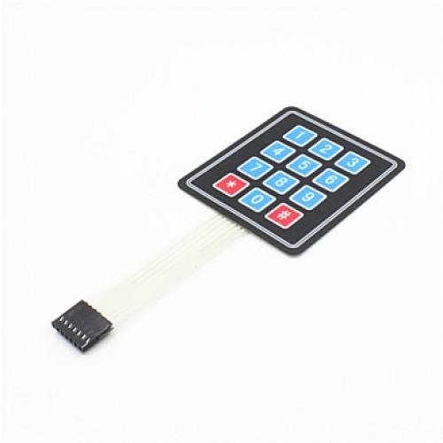 3x4 Matrix 12 Key Membrane Switch Keypad Keyboard