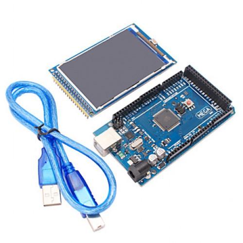 Mega2560 R3 + 3.2 inch TFT IPS 480 x 320 Color Ful...