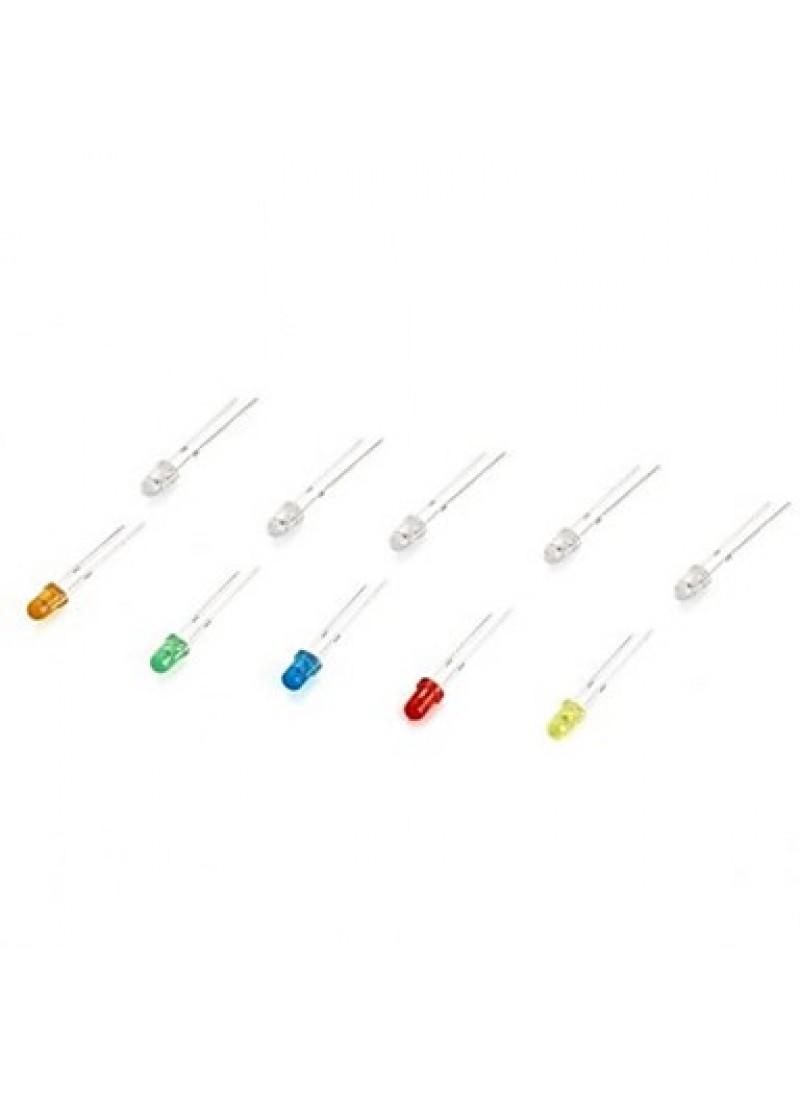 300PCS 3mm  LED Emitting Light Diode Kit